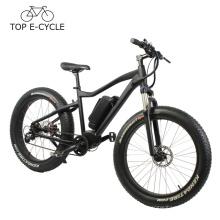 Haute qualité BBS bafang mid drive moteur e vélo VTT pédale ebike 2017 vélo électrique