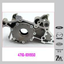 Bomba de óleo de carro de alumínio eficaz 471Q-1011950 Para carros de Mitsubishi Lance, Haima, BYD