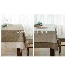 100% stone wahsed linen table cover/pure linen table cloth