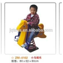 Los niños montan en juguete Rocking Horse-Cock toy026