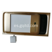 Celling Mounted PTC Ceramic Bathroom Master calentador para baño