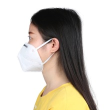 Protective Ear-Loop Pm2.5 Mascarillas blancas 3D para polvo desechables