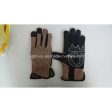 Перчатки-Синтетические Безопасности Кожаные Перчатки Производительность Перчатки-Анти-Скольжения Перчатки-Рабочие Перчатки