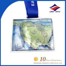 LZY Оптовая обычай печатать сувенирные Медали с логотипом