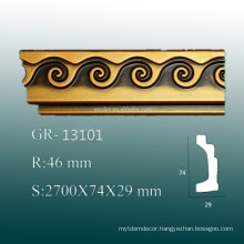 Eco-friendly and economic PU Frame Molding Wall Ceiling Molding