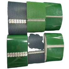 Different thick green diamond top baggage PVC conveyor belt