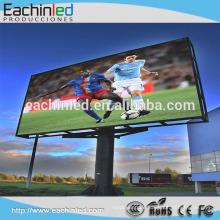 Hochwertiger farbenfroher feststehender örtlich festgelegter LED-Fernsehwerbungsanzeige des Förderungspreises SMD