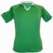 Klassische Plain Green Sublimierte Tennisbekleidung