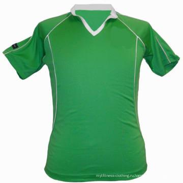 Классическая зеленая сублимированная теннисная одежда