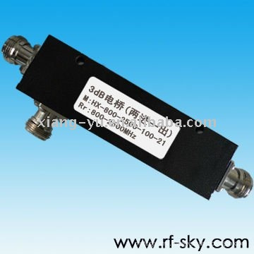 2 IN 1 OUT N-F/N-M Connector Type 800-2500MHz Power Passive Hybrid materials marketing