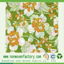 Tecido não tecido impresso para produção de colchões