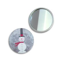 Miroir de maquillage de cadeau de promotion de festival de Noël miroir personnalisé