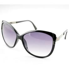 Black Cat Eye Fashion Элегантные солнцезащитные очки для промоушена для женщин (14208)