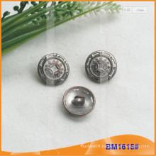 Fashion Zinc Alloy Shank Button for Garment BM1615