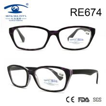 Винтаж Мода Фиолетовый Зерно Чтение Очки (RE674)