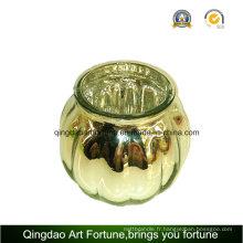 Mercury Glass Pumpkin Jar pour Noël Hollowen