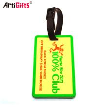 Free samples high quality custom travel accessories pvc luggage tag