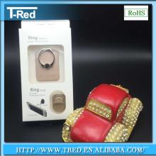 soporte de teléfono móvil de oro de los soportes del anillo de oro para el coche