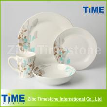 Runde Form maßgeschneiderte Porzellan Geschirr