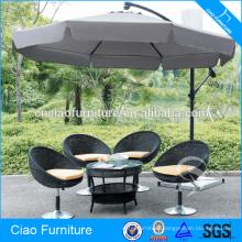 Outdoor furniture garden stainless steel umbrella poolside umbrella