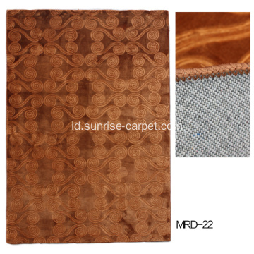 Karpet buatan mesin, wall to wall rug, embossing carpet