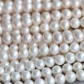 9-10мм круглый пресной воды жемчужиной ожерелье Материал Оптовая (E180015)