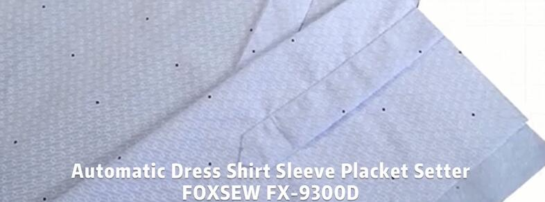 Automatic Shirt Sleeve Placket Setter FOXSEW FX-9300D -1