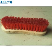 escova de limpeza de madeira flexível e personalizável