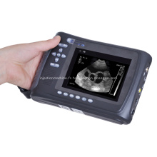 Machine vétérinaire d'ultrason portative de scanner tenu dans la main médical