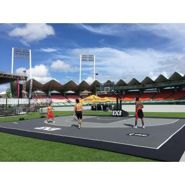 Outdoor Basketball Sportplatz Fliesen Bodenbelag