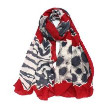 Womens Lightweight Leopard Fashion Print Shawl Wrap Scarf (SW101)