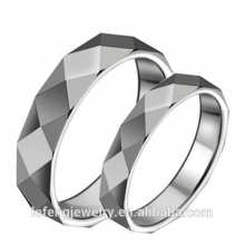 High polished, smart ring jewelry, fashionable silver plating Tungsten rings