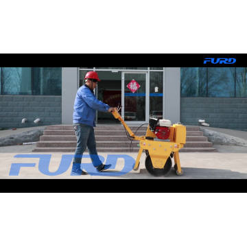 Pavement Foundation Walk Behind Mini Road Roller Compactor Pavement Foundation Walk Behind Mini Road Roller Compactor FYL-600
