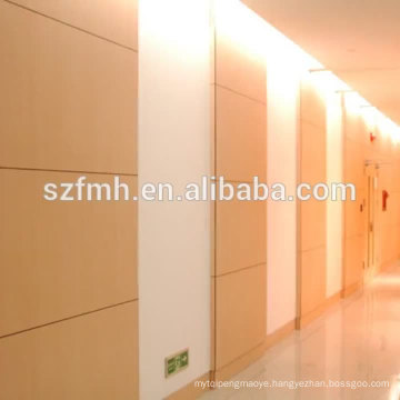 decorative wood grain hpl panel wall cladding
