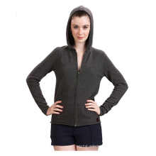 PK18A48HX Cashmere Zip Hoodies For Women