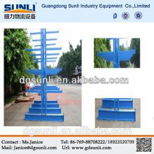 Steel Pipe Storage Side Side Cantilever Rack