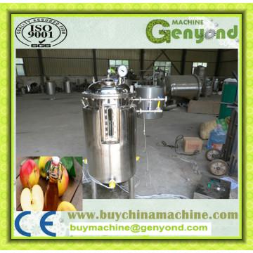 Réservoir de fermentation à bière conique en acier inoxydable