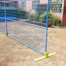 6ftx9.5 футов с порошковым покрытием временный забор панели по охране строительных объектов