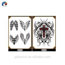 Manchon de tatouage bras YinCai avec des conceptions spéciales pour la peau du corps, tatouage autocollant temporaire de haute qualité