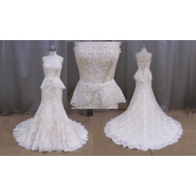 Latest Mermaid Tail Wedding Dress Bridal Gown
