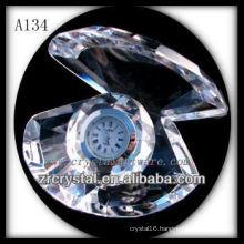 Crystal Shell Clock A134