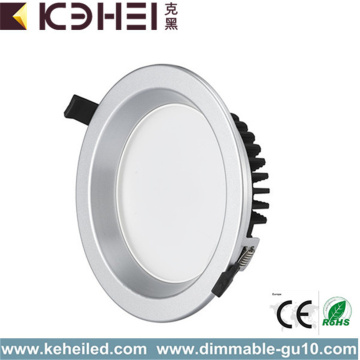 12W 4 Inch LED Downlights Round 80Ra 100lm/W