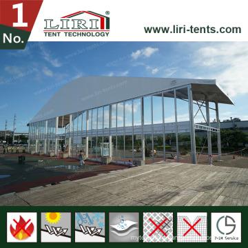Huge Arcum Tent for Hot Sales with Glass Walls & Glass Doors
