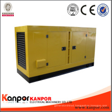 Silent Type 3 Phase Water Cooled 500kVA Diesel Generator Brand Engine