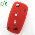 Fahion Silicone Fiat 3 Button Flip Key Cover/Shell
