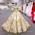 HA749B Baiyi wedding dress 2018 luxury ball gown wedding dresses off shoulder