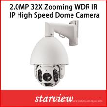 2.0MP 32X Zooming IP IR Waterproof Network PTZ Dome Camera