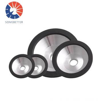 Grinding wheel for crankshaft and camshaft carbide tool bench grinder