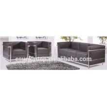 ks816 Contemporary furniture office sofas stainless steel legs sofas