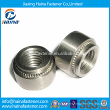 Stock Fastener Stainless Steel Self Clinching Nuts